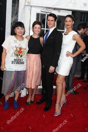 Satsuki Okawa, Phoebe Neidhardt, Nick Ballard and Jessica Clark