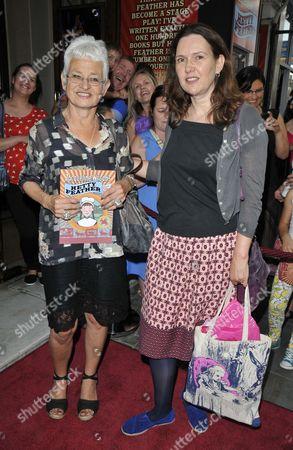 Dame Jacqueline Wilson and Joanna Briscoe