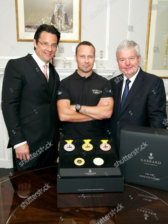Editorial photo of Garrard unveils Invictus Medals, London, Britain - 07 Aug 2014
