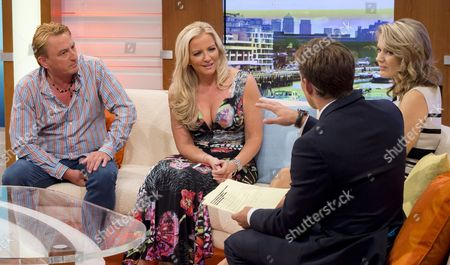 Stock Picture of Piers Hernu, Michelle Mone, Ben Shephard and Charlotte Hawkins