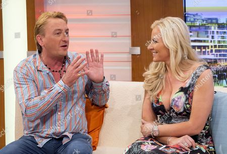 Editorial image of 'Good Morning Britain' TV Programme, London, Britain - 08 Aug 2014