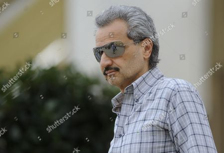 Editorial picture of Zagreb Al-Waleed bin Talal bin Abdulaziz al Saud in Zagreb, Croatia - 06 Aug 2014