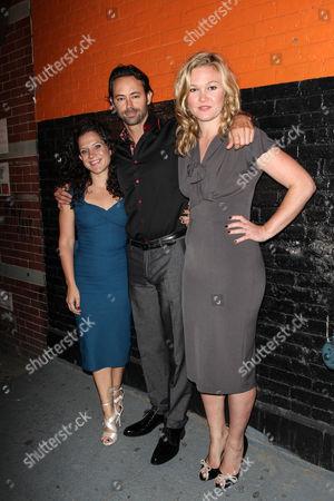 Jennifer DeLia, James Wirt and Julia Stiles