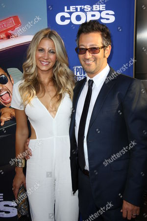 Editorial picture of 'Let's Be Cops' film premiere, Los Angeles, America - 07 Aug 2014