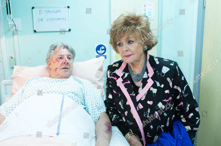Rita Tanner [BARBARA KNOX] is shocked to learn that Dennis Tanner [PHILIP LOWRIE] is in hospital after being beaten up. She goes to visit him and tells him he has some explaining to do.