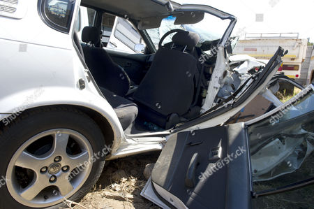 Car that Carl Pistorius was driving