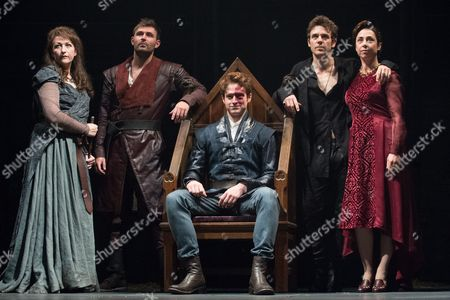 Blythe Duff, James McArdle, Andrew Rothney, Jamie Sives and Sofie Grabol