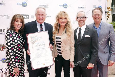 Tom LaBonge, Dyan Cannon, Kate Linder, Mitch O'Farrell and guest
