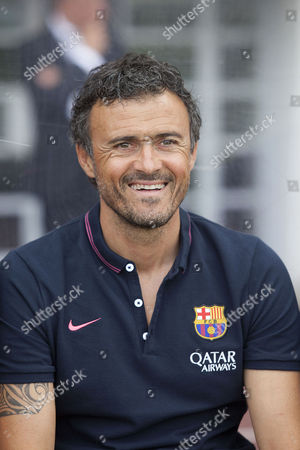 Stock Photo of The new Barcelona manager Louis Enrique