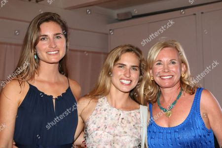 Stock Picture of Lauren Bush, Ashley Bush and Sharon Bush
