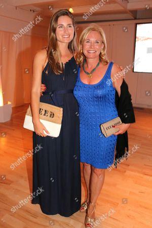 Lauren Bush and Sharon Bush