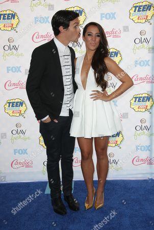 Alex Kinsey and Sierra Deaton