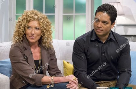 Kelly Hoppen and Piers Linney