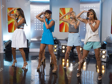 The Saturdays - Rochelle Humes, Frankie Sandford, Mollie King and Una Foden