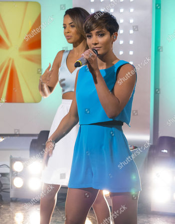 The Saturdays - Rochelle Humes and Frankie Sandford