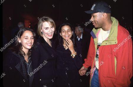 Rashida Jones, Peggy Lipton, Kidada Jones & LL Cool J