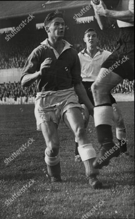 Editorial image of Archibald (archie) Kelly Aberdeen F.c. Footballer In Action.