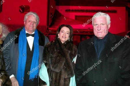 Gert Rudolf ( Muck ) Flick, wife Corinne Mueller Vivil and Friedrich Christian ( Mick ) Flick