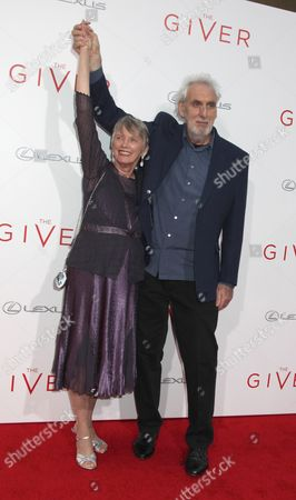 Stock Picture of Lois Lowry (Author) and Phillip Noyce (Director)