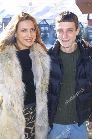 "Bella Levy and Matt Wolff promoting the film ""Paradox Lake"" at the 2002 Sundance Film Festival in Park City, Utah on January 14, 2002.