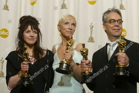 Fran Walsh, Howard Shore and Annie Lennox
