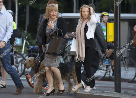 Stock Picture of Kellie Maloney with daughter