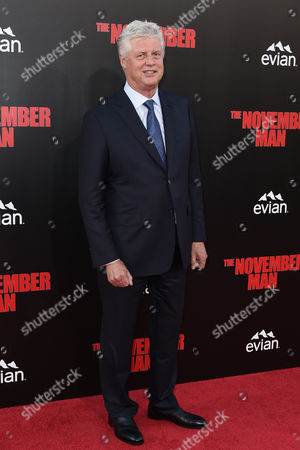 Editorial image of 'The November Man' film premiere, Los Angeles, America - 13 Aug 2014