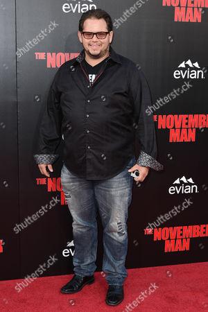 Editorial photo of 'The November Man' film premiere, Los Angeles, America - 13 Aug 2014