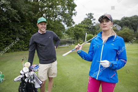 Editorial picture of Caroline Martens at the Ladies European Tour golf, Buckinghamshire, Britain - 03 Jul 2014