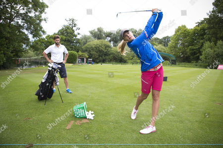 Editorial photo of Caroline Martens at the Ladies European Tour golf, Buckinghamshire, Britain - 03 Jul 2014