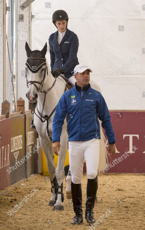 Editorial photo of Longines Global Champions Tour show jumping event, London, Britain - 14 Aug 2014