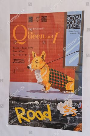 Poster for the Royal Court/Out of Joint production of The Queen and I