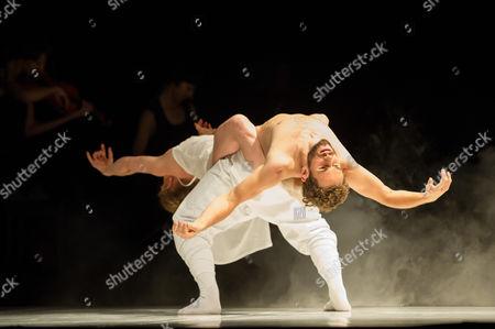 Editorial image of Sidi Larbi Cherkaoui presents '4D' performed at Sadler's Wells, London, Britain - 22 Jun 2014