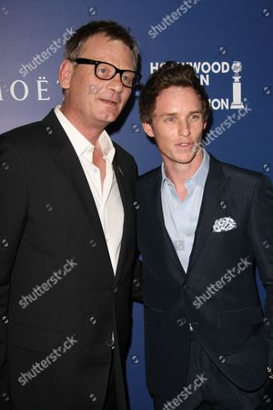 Theo Kingma and Eddie Redmayne