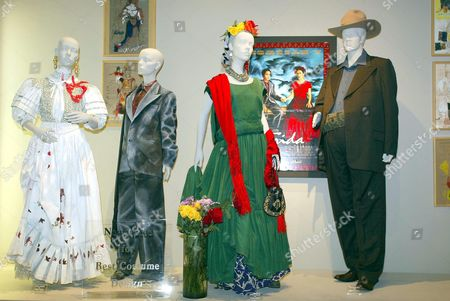 COSTUMES FROM THE FILM 'FRIDA' BY DESIGNER JULIE WEISS. WORN BY SALMA HAYEK AND ALFRED MOLINA