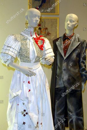 COSTUMES FROM THE FILM 'FRIDA'. DESIGNER JULIE WEISS. WORN BY SALMA HAYEK AND ALFRED MOLINA.