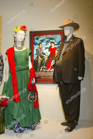 COSTUMES FROM THE FILM 'FRIDA'. DESIGNER JULIE WEISS. WORN BY SALMA HAYEK AND ALFRED MOLINA