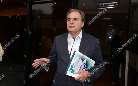 Belfast Based Solicitor Peter Madden For Michaella Connolly 20 (talks To The Waiting Media Outside Dirandro Police Station Lima Peru Where She Is Being Held On Suspicion Of Smuggling Cocaine  15.08.13.