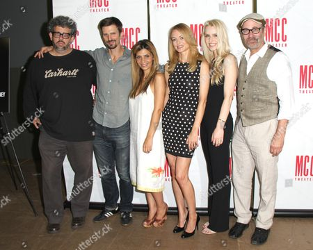 Stock Image of Neil LaBute, Fred Weller, Callie Thorne, Heather Graham, Gia Crovatin, Director Terry Kinney