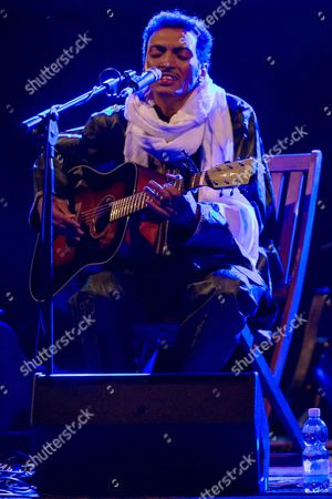 Editorial image of Bombino in concert, Turin, Italy - 14 Aug 2014
