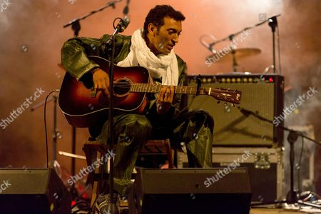 Editorial photo of Bombino in concert, Turin, Italy - 14 Aug 2014