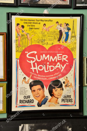 Poster from 'Summer Holiday' with Cliff Richards