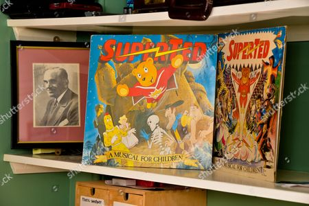 SuperTed albums (he did voices)