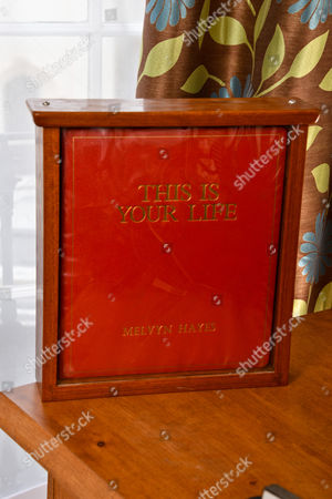 The big red book from This Is Your Life from 1980 when Melvyn's episode was watched by 18 million viewers