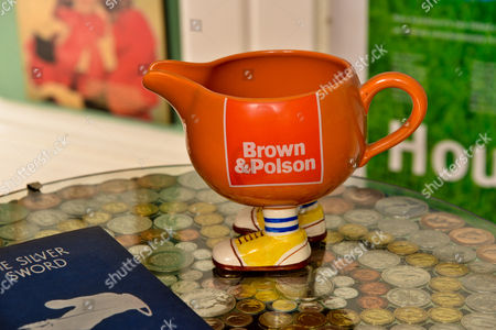 A jug from a production of The Dresser in which Melvyn met Jayne, his wife of almost 30 years