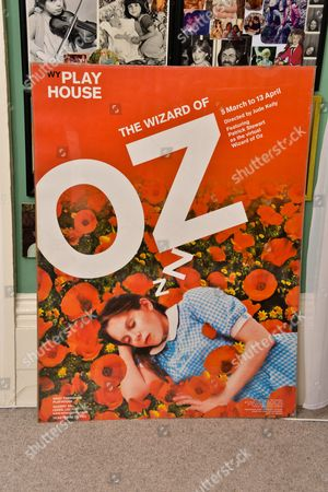 A poster from 'OZ' with his daughter Charlie on it.