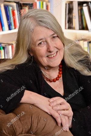 Stock Image of Mary Beard, OBE is Professor of Classics at the University of Cambridge