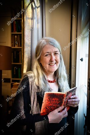 Stock Picture of Mary Beard, OBE is Professor of Classics at the University of Cambridge