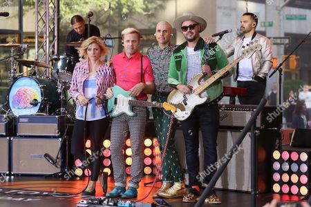 Neon Trees- Elaine Bradley, Chris Allen, Tyler Glenn, Branden Campbell