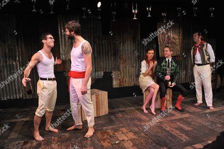 Gideon Turner(Jake) Josie Taylor (Brett) Jye Frasca (Robert) Jack Holden (Romero)
